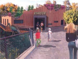 Projet du nouveau vivarium à la Réserve Africaine de Sigean