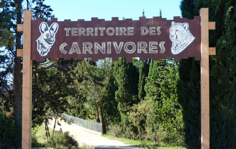 Arche d'entrée au Territoire des Carnivores