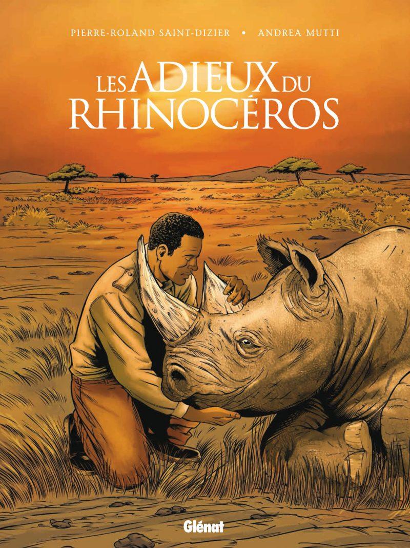 Couverture BD Les adieux du Rhinocéros